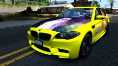 "BMW M5 F10 ""Sakurasou no Pet na Kanojo Itasha"" for GTA San Andreas"