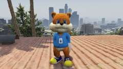 Conker The Squirrel for GTA 5