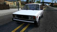 VAZ 2105 white for GTA San Andreas