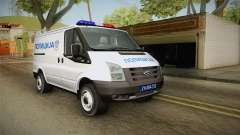 Ford Transit Police for GTA San Andreas