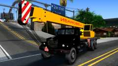 KrAZ-257 Truck Crane