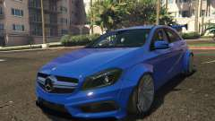 Mercedes-Benz A45 AMG Rocket Bunny for GTA 5