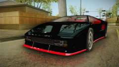 GTA 5 Pegassi Infernus Classic IVF for GTA San Andreas