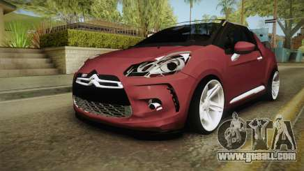 Citroen DS3 for GTA San Andreas