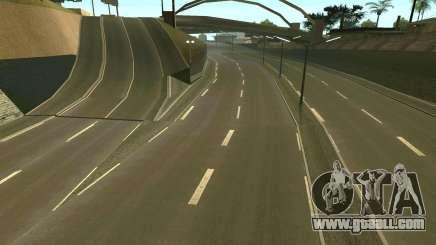 Russian roads for GTA San Andreas