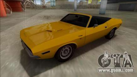 Dodge Challenger Cabrio for GTA San Andreas