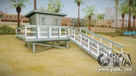Beach of Santa Maria in HD and HQ v0.1 for GTA San Andreas