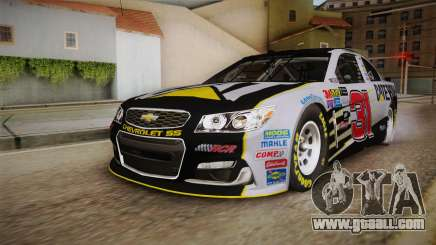 Chevrolet SS Nascar 31 Caterpillar 2017 for GTA San Andreas