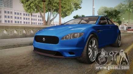 GTA 5 Ocelot Jackal 2-doors IVF for GTA San Andreas