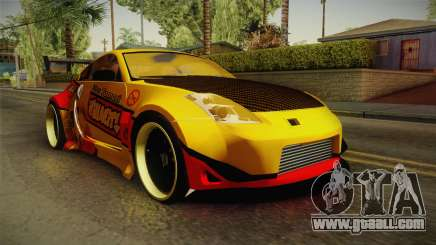 Nissan 350Z Nao Tomori Itasha for GTA San Andreas