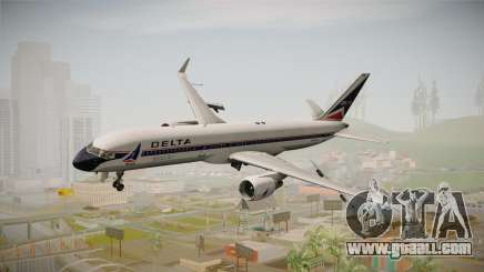 Boeing 757-200 Delta Air Lines (Widget) for GTA San Andreas
