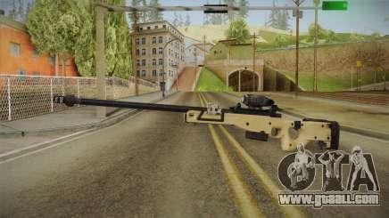 Battlefield 4 - L96 for GTA San Andreas