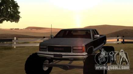 GMC Sierra 2500 Monster 1998 for GTA San Andreas