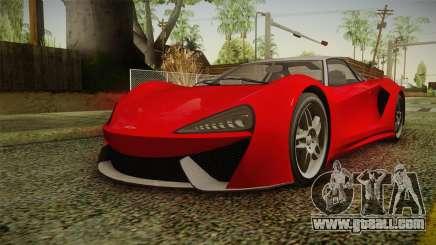 GTA 5 Progen Itali GTB IVF for GTA San Andreas
