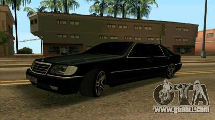 Mercedes-Benz W140 S600 for GTA San Andreas