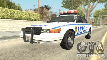 GTA 4 Police Stanier SA Style for GTA San Andreas