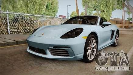Porsche 718 Boxster S Cabrio for GTA San Andreas