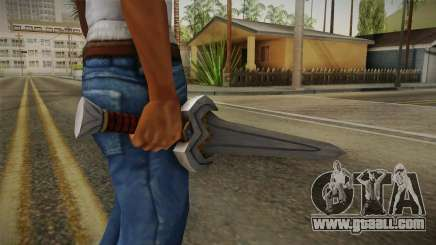 Injustice: Gods Among Us - Amazonian Sword for GTA San Andreas
