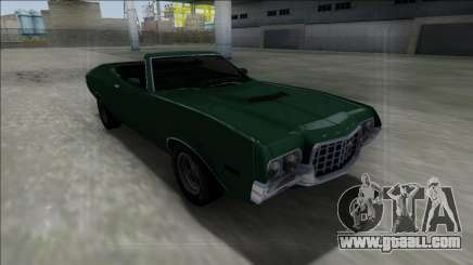 1972 Ford Gran Torino Cabrio for GTA San Andreas