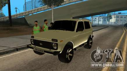 Vaz 2121 Niva Armenian for GTA San Andreas