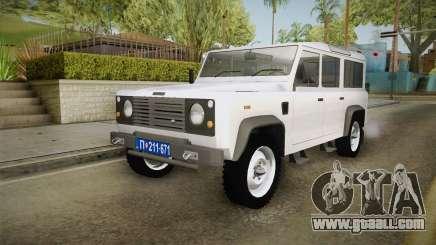 Land Rover Defender 110 Policija Undercover for GTA San Andreas