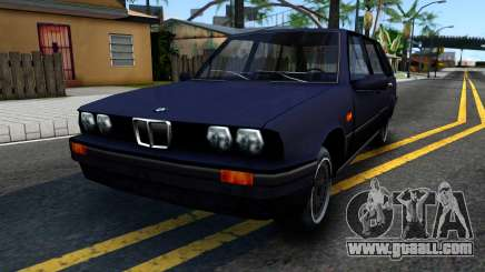 BMW 3-er E30 Touring SA Style for GTA San Andreas
