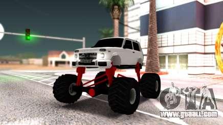 Vaz 2121 Monster Armenian for GTA San Andreas