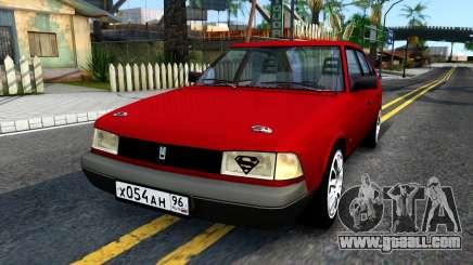 AZLK 2141 Burgundy for GTA San Andreas