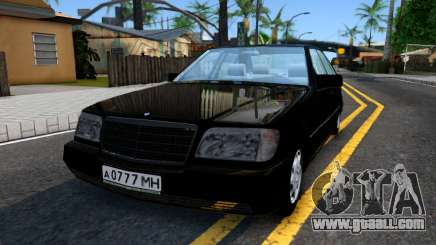 "Mercedes-Benz W140 S600 From ""Brigada"" for GTA San Andreas"