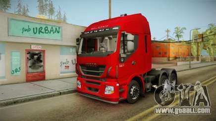 Iveco Stralis Hi-Way 560 E6 6x4 v3.1 for GTA San Andreas