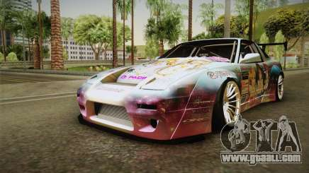 Nissan 380SX Bensopra LL Snow Halation Itasha for GTA San Andreas