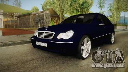 Mercedes-Benz C-class Kompressor for GTA San Andreas