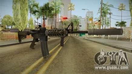 Battlefield 4 - M16A4 for GTA San Andreas