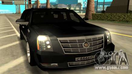 Cadillac Escalade Platinum for GTA San Andreas