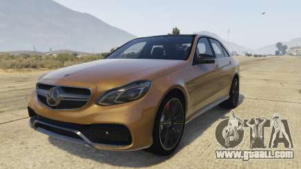 Mercedes-Benz E63 AMG 2013 for GTA 5