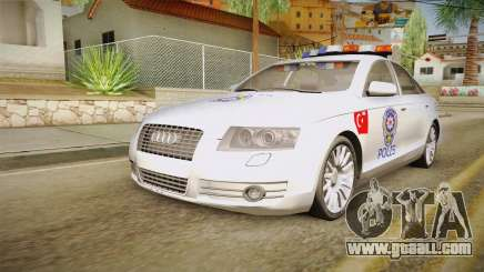 Audi A6 Turkish Police for GTA San Andreas