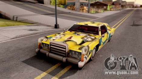 New Remington Paintjob v6 for GTA San Andreas