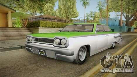 GTA 5 Declasse Voodoo 4-door IVF for GTA San Andreas