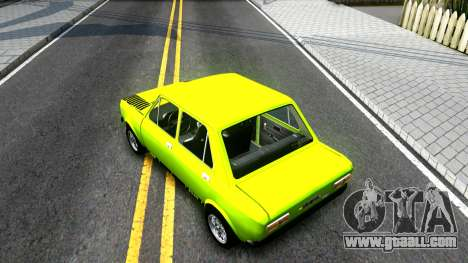 Fiat 128 for GTA San Andreas back view