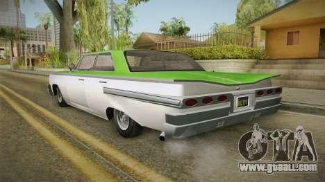 GTA 5 Declasse Voodoo 4-door IVF for GTA San Andreas left view