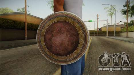 Wonder Woman Gal Gadot Shield for GTA San Andreas third screenshot