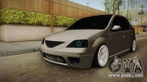 Dacia Logan Romania Edition for GTA San Andreas right view