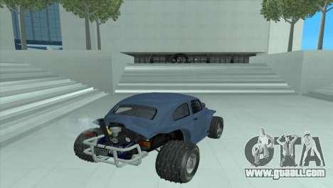 Volkswagen Baja Buggy for GTA San Andreas back left view