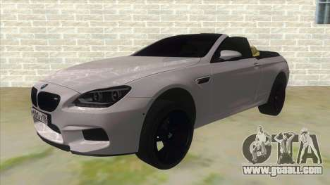 BMW M6 F13 Cabrio for GTA San Andreas