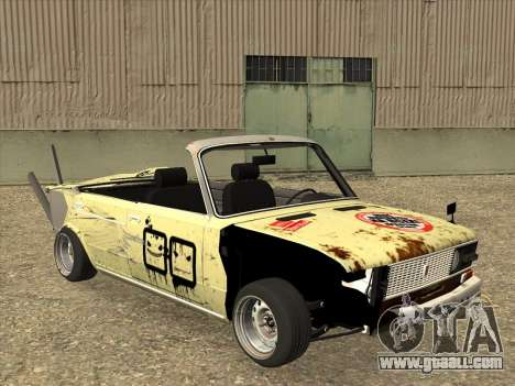 VAZ 2106 Convertible for GTA San Andreas