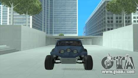Volkswagen Baja Buggy for GTA San Andreas left view