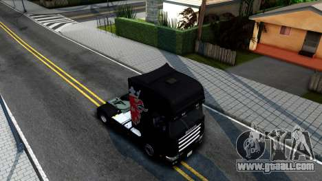 Scania 124L for GTA San Andreas right view