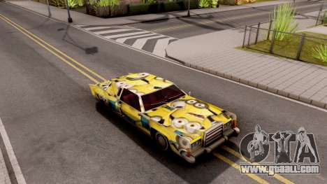 New Remington Paintjob v6 for GTA San Andreas right view