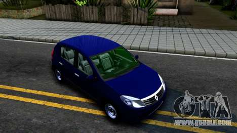 Renault Sandero for GTA San Andreas right view