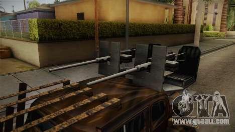 Raku Desert Hustler for GTA San Andreas back view